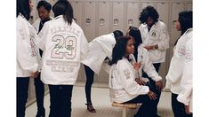 Mayan Toledano turns her lens toward the country's first African-American sorority and its enduring legacy of service. Aka Sorority Gifts, Alpha Kappa Alpha Sorority, Spelman College, Alpha Female, Line Jackets, American Women, African American History, Pink And Green, Coat