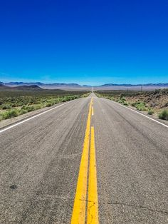 The Long Road Ahead - One thing you find in Nevada is roads that go a long way in a straight line, with not much of anything but wide open spaces around you.