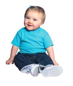 Rabbit Skins 3401 Infant 5.5 oz. Short-Sleeve T-Shirt for only $0.50 You save: $21.48 (98%)