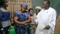 Ambode Donates N5m To Widow Of Man Killed For Exposing Kidnappers Operation [Photo]