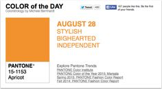 APPart – Mobile Art – Pantone Color of the Day – 'Apricot' – TheAppWhisperer