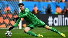 2014 FIFA World Cup™ - Photos - FIFA.com  Thibaut Courtois of Belgium makes a save