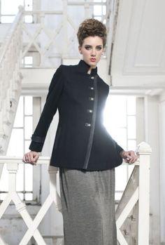 Shyla� Women's Mandarin Collar 5-butt... $99.95 #topseller