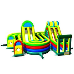 How To Buy Low-price And Best Adrenaline Rush Extreme Obstacle Jumper? Our Provide Commercial Bounce House, Discount Water Slide, Cheap Bouncy Games In Sale Inflatables Online