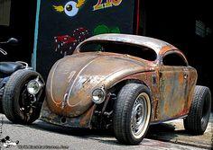 Image detail for -Volkswagen Rat Vw Rat Rod, Rat Rods, Beetle Bug, Vw Beetles, Volkswagen, Sweet Cars, Drag Cars, Car Manufacturers, Kustom