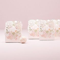 Floral Garden Favor Boxes by Beau-coup