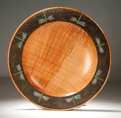 Turned and carved plate by Jim Christiansen