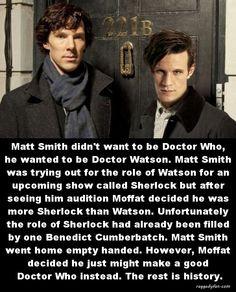 doctor who as doctor watson
