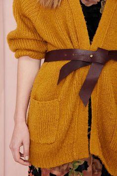 B-Low The Belt Ribbon Leather Belt