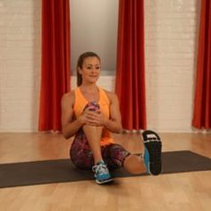 Slimmer, Shapely Quads in One Easy Move: Seated Sweeping Leg Lift