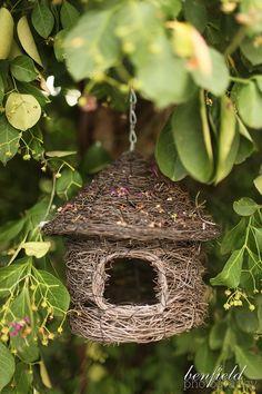 Woodland's cottage birdhouse