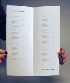 20 Impressive Restaurant Menu Designs