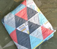 60 degree triangle quilt