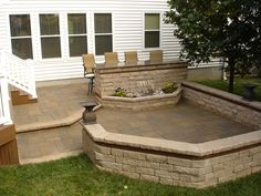 paver patio designs with bar | Paver Patios