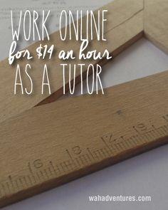 Earn $14 an hour plus bonuses as an online tutor for tutapoint.