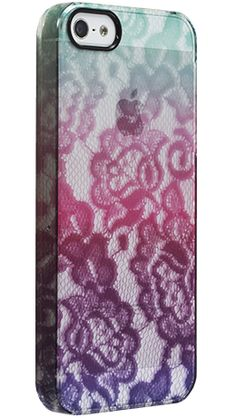 iPhone 5 ClearlyTM UN Deflector Case - Mint Lace Gradient by Uncommon - Uncommon $39.95
