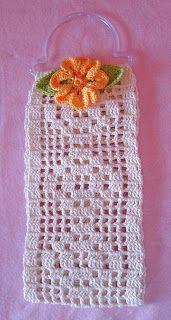 CAROCROCHET: Accesorios para baño Crochet Top, Crochet Hats, Crochet Earrings, Crafts, Accessories, Women, Ideas, Fashion, Shopping