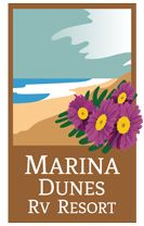 Check out the numerous amenities and features available at Marina Dunes RV Resort and nearby on the Monterey Peninsula, like patios on each full hookup site. Minnesota Camping, Florida Camping, Used Camping Trailers, Rv Trailers, Airstream Camping, Rv Camping, Half Moon Bay Camping, Camping Cornwall, Ocean Front Property