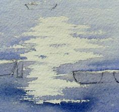 simple-watercolor-painting-sparkle-on-water