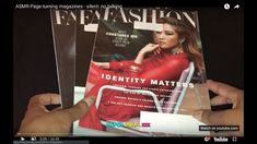 ASMR-Page turning magazines - silent- no talking Hop On Pop, Newspaper Paper, Constance Wu, Hello Magazine, Asmr Video, Bedtime Stories, I Hope You, Flipping