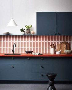 98 Wonderful Modern Kitchen Style ~ Top Home Design Style At Home, Kitchen Interior, New Kitchen, Kitchen Ideas, Kitchen Trends, Kitchen Designs, Interior Rugs, Living Room Interior, Kitchen Tips