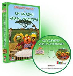 This Personalized DVD is filled with music, wild animals and exciting jungle scenes as your child and Gregory embark on a safari!