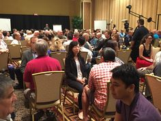 LIVE From HypnoThoughts 2015: A packed first talk, we lost count after 180 people! Amazing turnout here in Vegas. #HypnoThoughts #LiveEvents #hypnosis #HTA #LasVegas