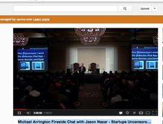 Michael Arrington Fireside Chat with Jason Nazar - Startups Uncensored # http://www.youtube.com/watch?v=JCs_DrtQEFU