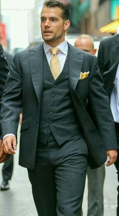 What a fabulous dresser! Love Henry in a suit!!