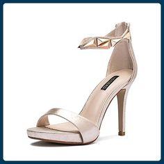 93fb04882bd Damen Sommer Sandalen Pumps/Stiletto Schuhe mit Mode Damen high heel sexy  Joker-B