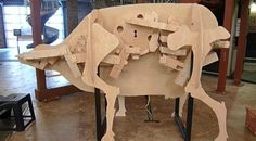 #Cow's Digestion Shown with #RudeGoldberg machine - http://www.finedininglovers.com/blog/curious-bites/cow-digestion-rude-goldberg-machine/