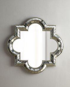 home decor & interior design - ShopStyle: Neiman Marcus Quatrefoil Mirror
