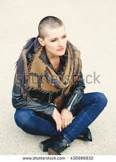 Stock Images similar to ID 29788207 - portrait of beautiful bald ...