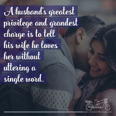 HUSBANDS: Can you do this? #quotes #marriagequotes #couplegoals #loved #romantic #lovequotes #lovesayings #romanticideas #relationship