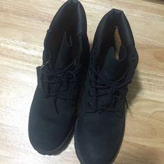 For Sale: Black Matte Timberlands for $89
