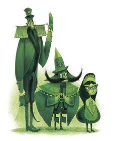 The Wonderful Wizard of Oz illustrated by Júlia Sardà