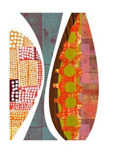 Bella Villa giclee print by Rex Ray  #patterns #art