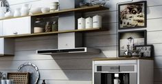 Ekkök med unik köksdesign från Electrolux home