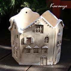 Innovations for Interior Designs with Ceramics Pottery Houses, Ceramic Houses, Ceramic Clay, Ceramic Pottery, Ceramics Projects, Clay Projects, Clay Crafts, Diy And Crafts, Cerámica Ideas