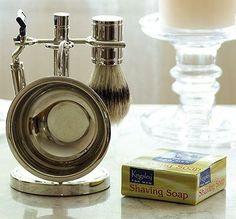 Upgrade your man's shave with a shave set he'll be proud to use and show off!