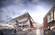 The Flinders Street Station Shortlisted Proposal - Grimshaw + John Wardle Architects