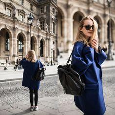 Coat, Bag, Sneakers