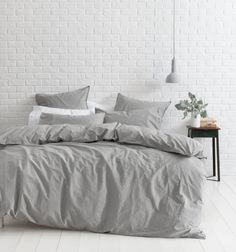 Canningvale's Vintage Softwash™ Cotton Quilt Cover Set offers a sense of nostalgia with its inviting comfort and feel – they are the way you remember good bedlinen used to be.