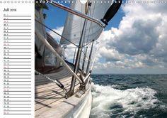 """Kalender: """"Maritimes und Meer"""" von Carina-Fotografie - CALVENDO Foto: Segelboot Vindö auf der Ostsee"""