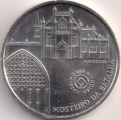 Motivseite: Münze-Europa-Südeuropa-Portugal-Euro-5.00-2005-Mosteiro da Batalha