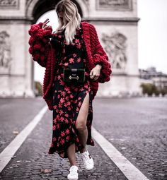 Causal Knit Loose Sweater fall fashion travel trend causal oversize top