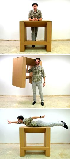 This Cheap, Strong Cardboard Standing Desk Will Let You Ditch Your Deadly Office Sitting
