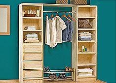 ¡Ármalo tu mismo! Organiza tus prendas y accesorios optimizando espacio.