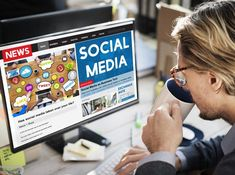 Using social media to get law firm press coverage. Photo Social Media, Social Media Pages, Social Media Marketing, Bedroom Minimalist, Web Design Packages, Design Poster, Digital Marketing Services, How To Get, Studio