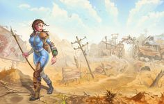 This HD wallpaper is about woman holding pike illustration, Fallout, video games, artwork, Original wallpaper dimensions is file size is Fallout Facts, Fallout Game, Fallout New Vegas, Fallout Vault, More Wallpaper, Original Wallpaper, Wallpaper Backgrounds, Desktop Wallpapers, Fallout Wallpaper